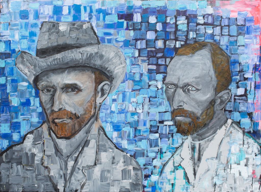 2015 narouz moltzer, Interpretations of Van Gogh