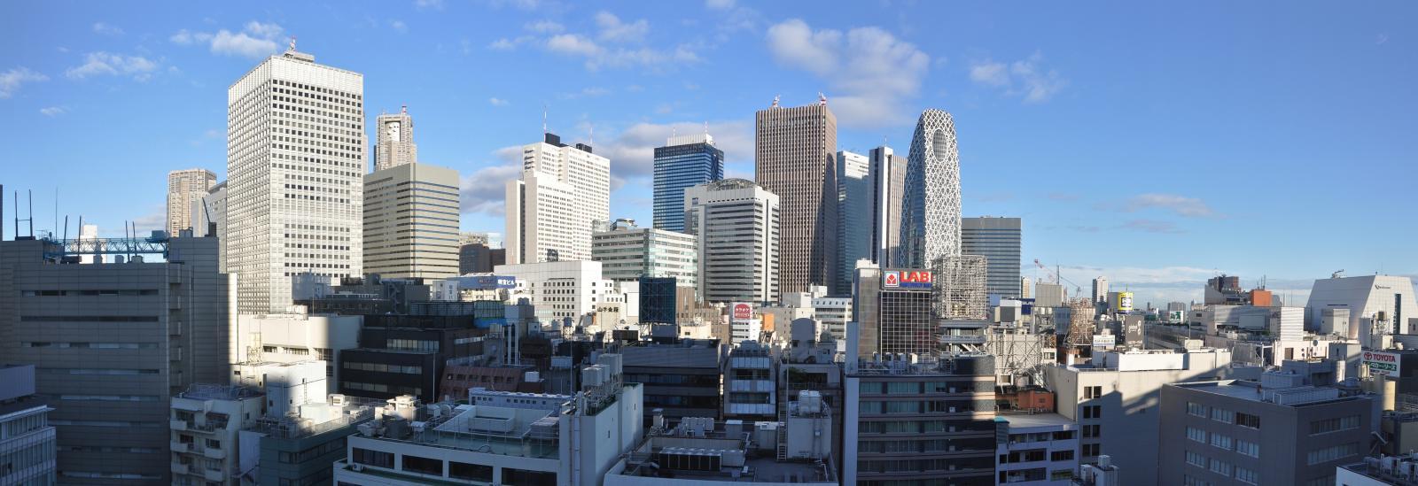 Skyline Tokyo Photographer: B.Bampbell, Source: Flickr