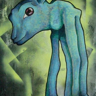 Sim, Blue Lamb