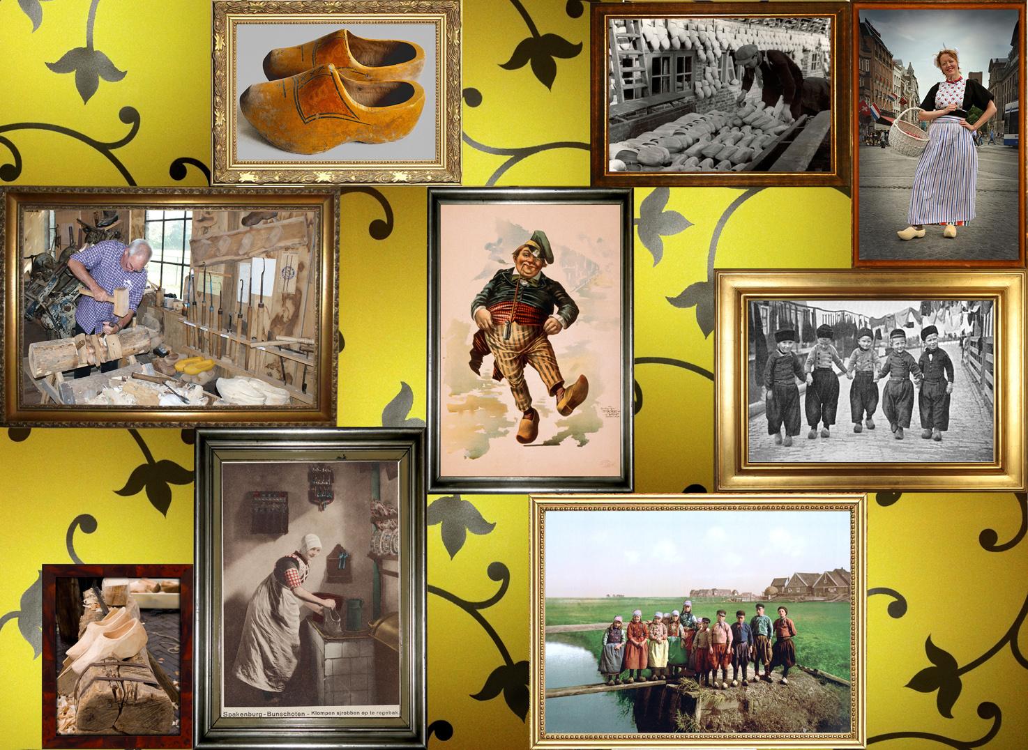 Pochemuchka Design for Zart : collage on dibond - cloggs
