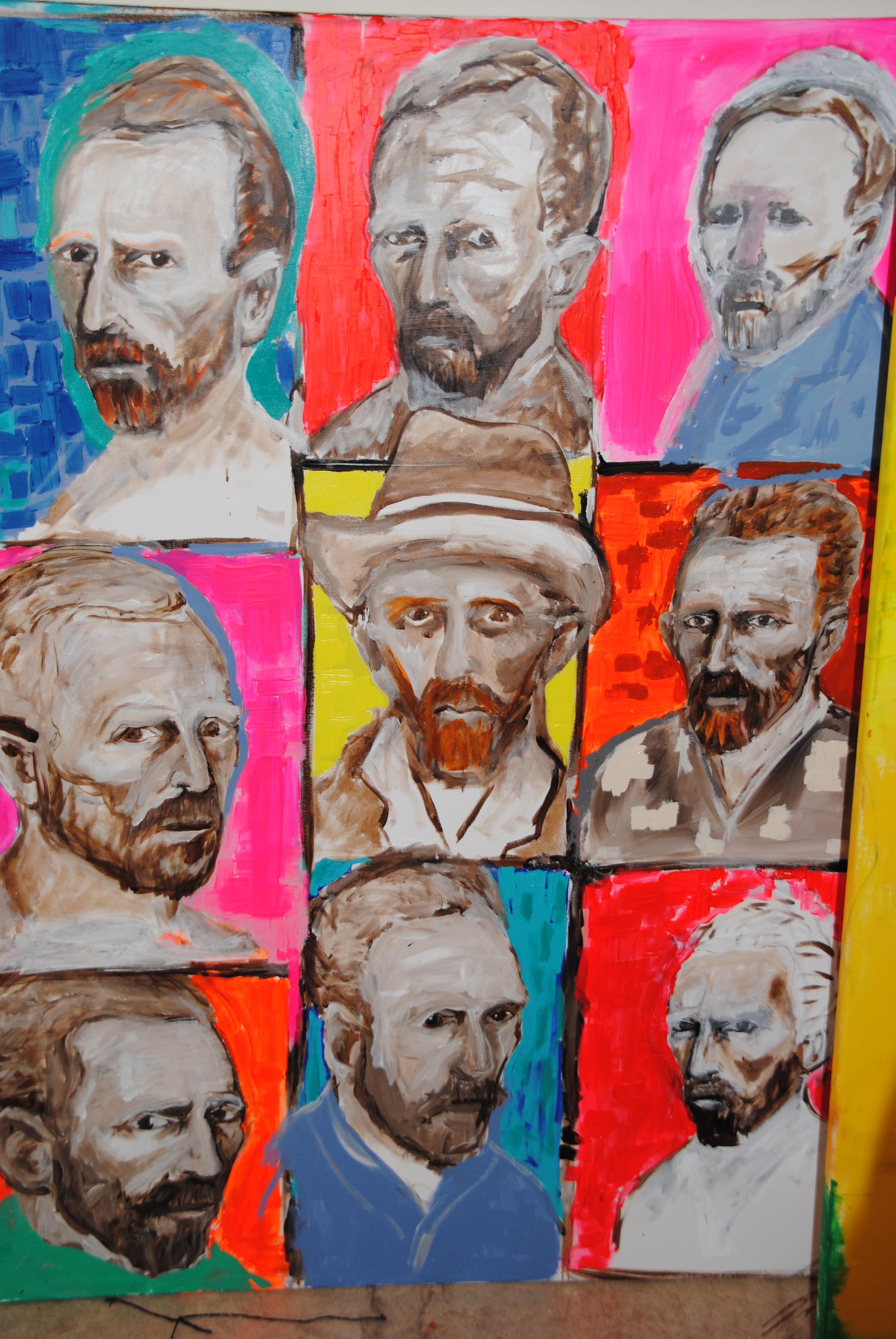 2015 narouz moltzer, Interpretations of Van Gogh