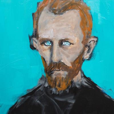 Portrait of Vincent van Gogh by Narouz Moltzer (2015)